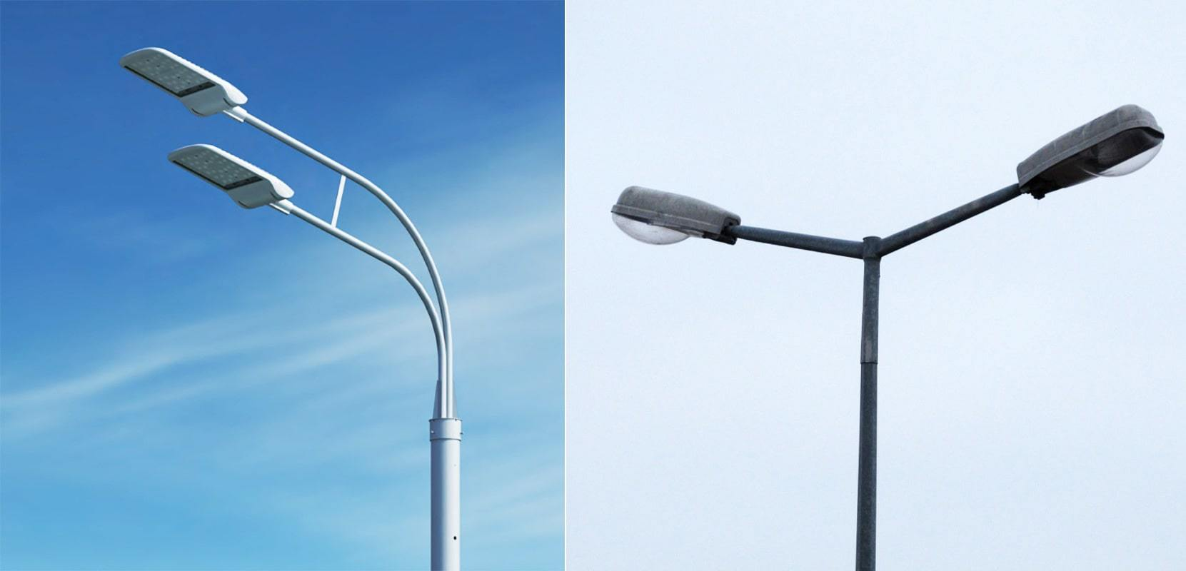 Светодиодные лампы для уличного освещения на столбы
