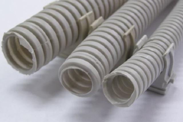 Гофра для электропроводки: виды, характеристики и монтаж электропроводки в гофре