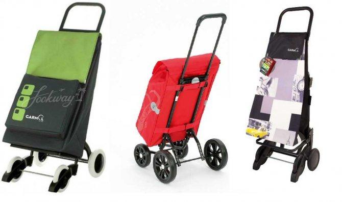 Хозяйственная сумка на колесах — выбираем тележку для продуктов