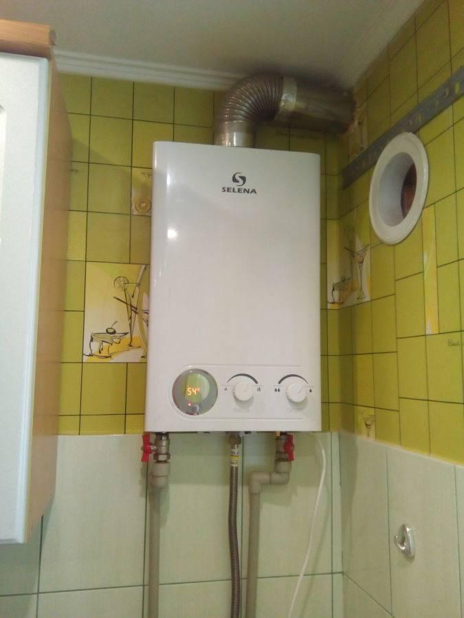 Выбор газовой колонки для нагрева воды