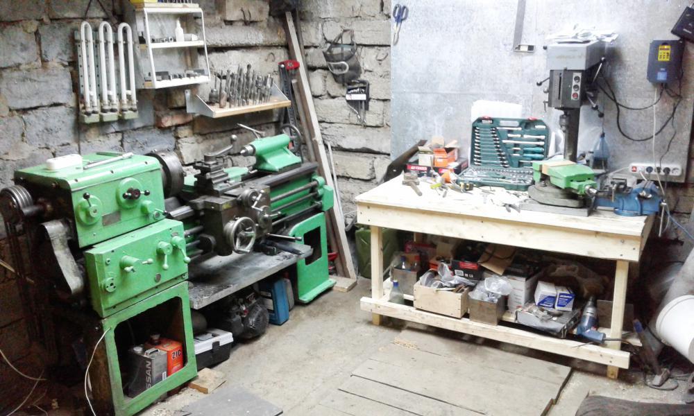Как выбрать токарный станок по металлу в гараж