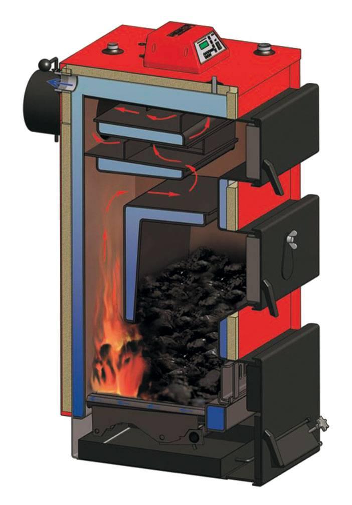 Использование котлов длительного горения для отопления дома