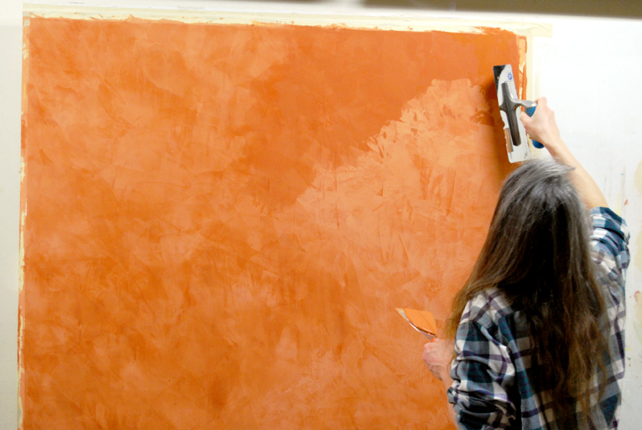 Как нанести венецианскую мраморную штукатурку своими руками