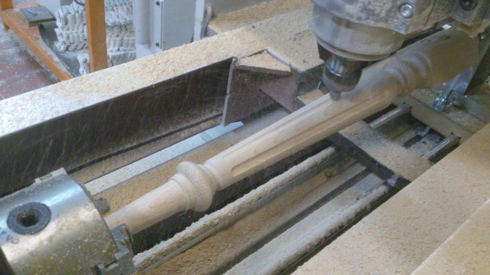 Изготовление балясин из дерева самостоятельно