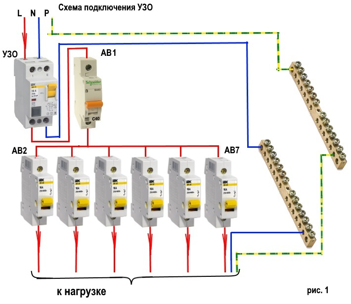 Автоматический выключатель на 16А — какую нагрузку выдерживает