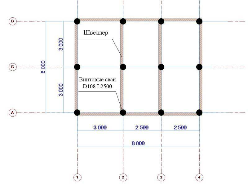 Как рассчитать количество свай для фундамента