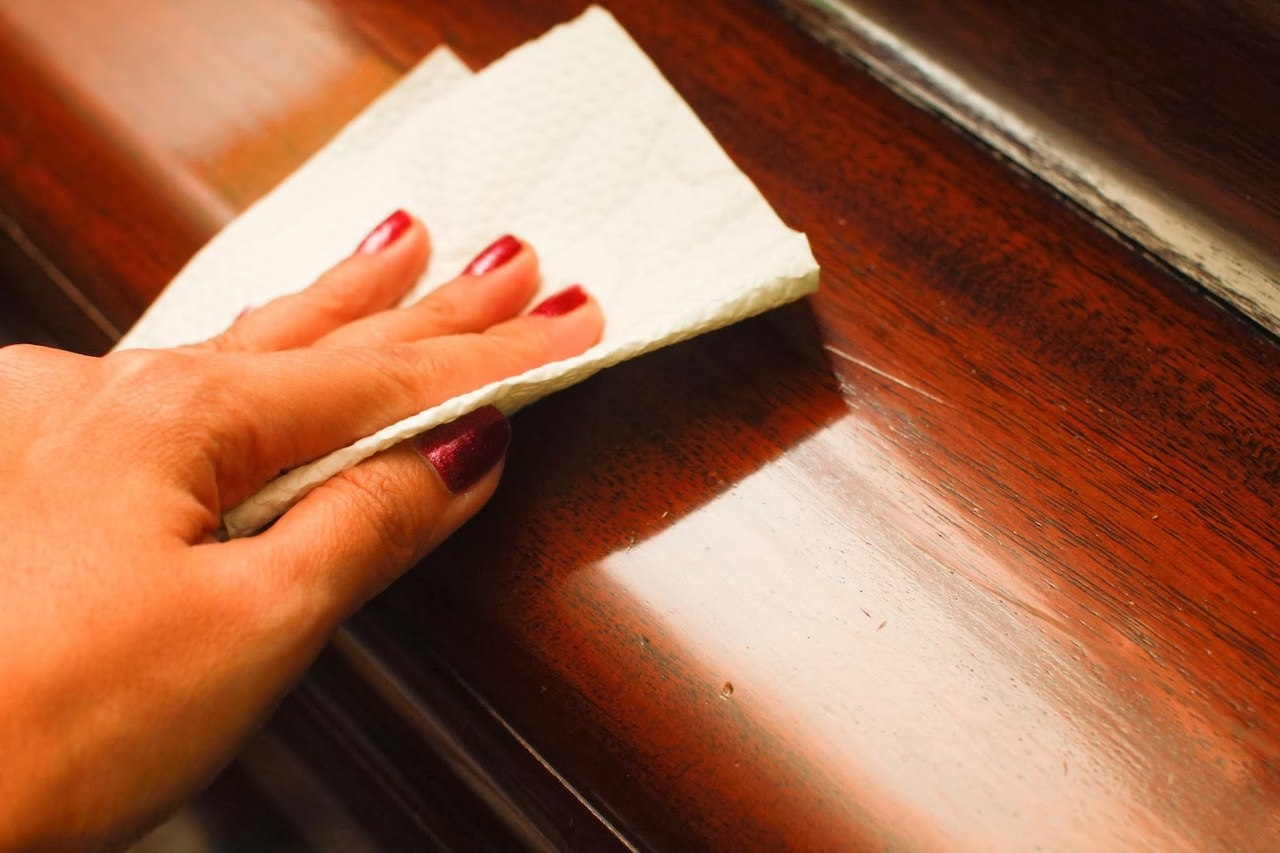 Как отполировать мебель в домашних условиях