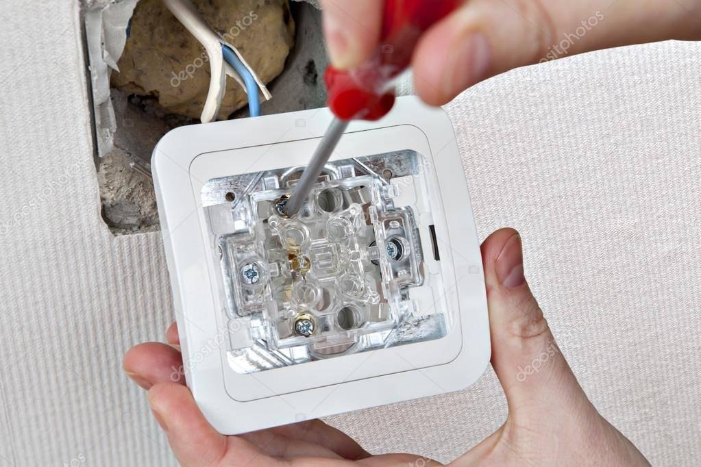 Ремонт выключателей света: принцип работы и устройство