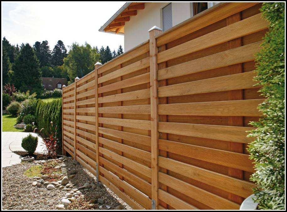 Самостоятельная постройка разных видов деревянного забора