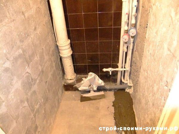 Правила сокрытия канализационных труб в ванной
