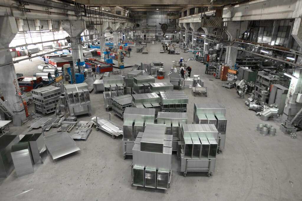 Изготовление вентиляционных воздуховодов: обзор оборудования и производства
