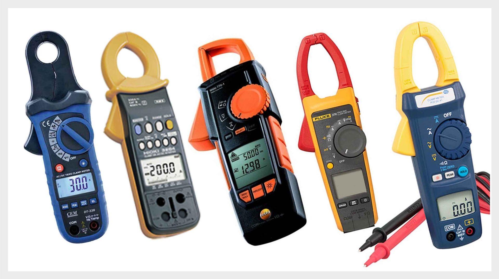 Клещи для измерения постоянного или переменного тока