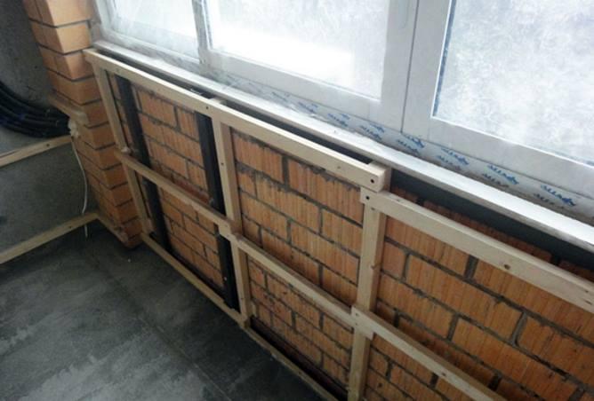 Использование ламината для отделки балкона и лоджии
