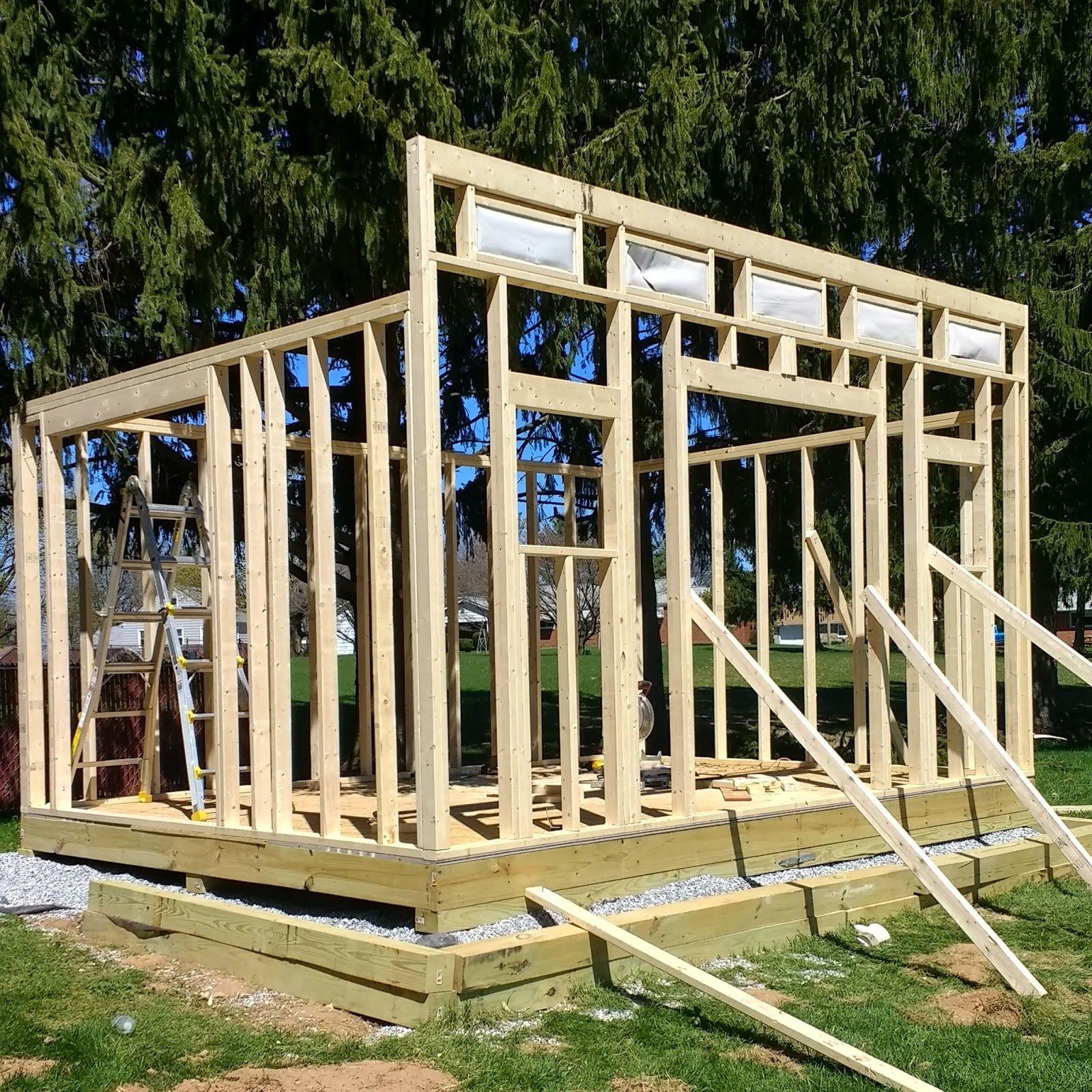 Как построить сарай: подробная поэтапная инструкция с фото