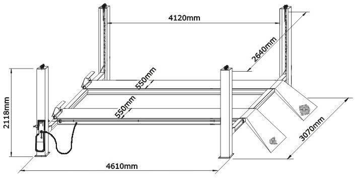 Самостоятельная постройка в гараже подъёмника для смотровой ямы