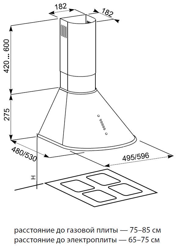Установка и подключение кухонной вытяжки