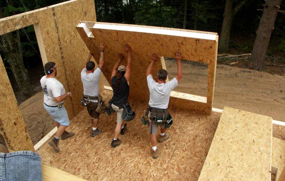 Как построить дом из SIP-панелей своими руками