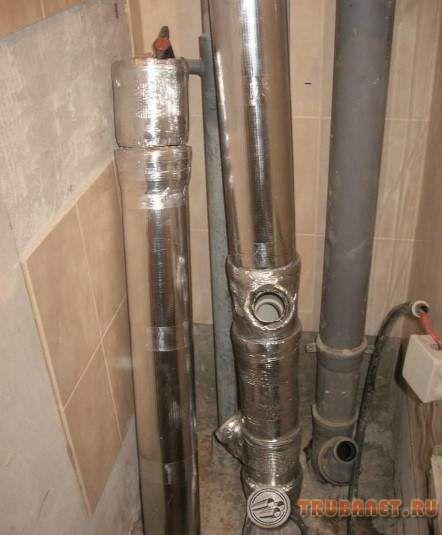 Как сделать звукоизоляцию канализационных труб в туалете