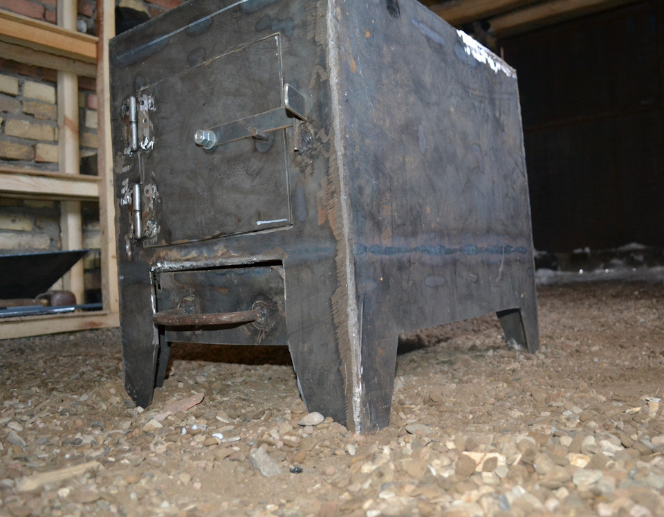 Как сделать печку для гаража
