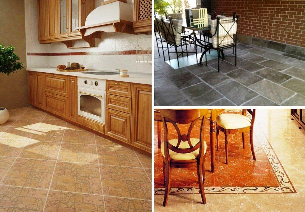 Напольное покрытие для кухни что выбрать: виды и характеристики напольных покрытий