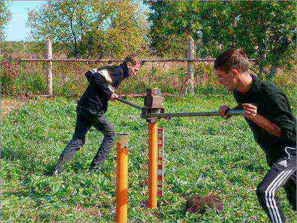 Что такое винтовые сваи и как их устанавливают