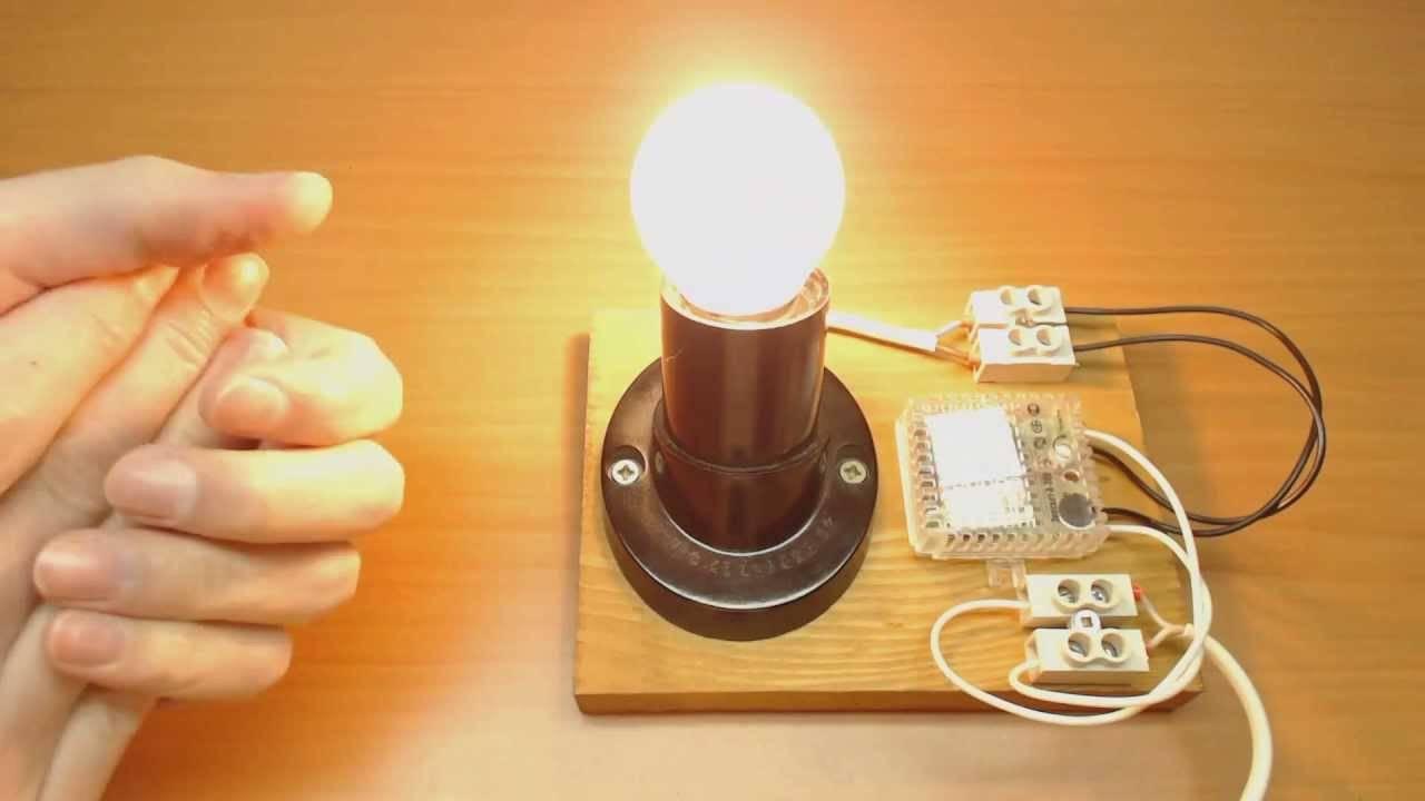 Принцип действия, устройство и схема акустического выключателя