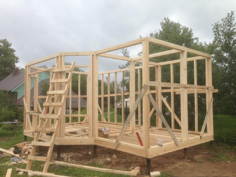 Технология строительства дома без фундамента