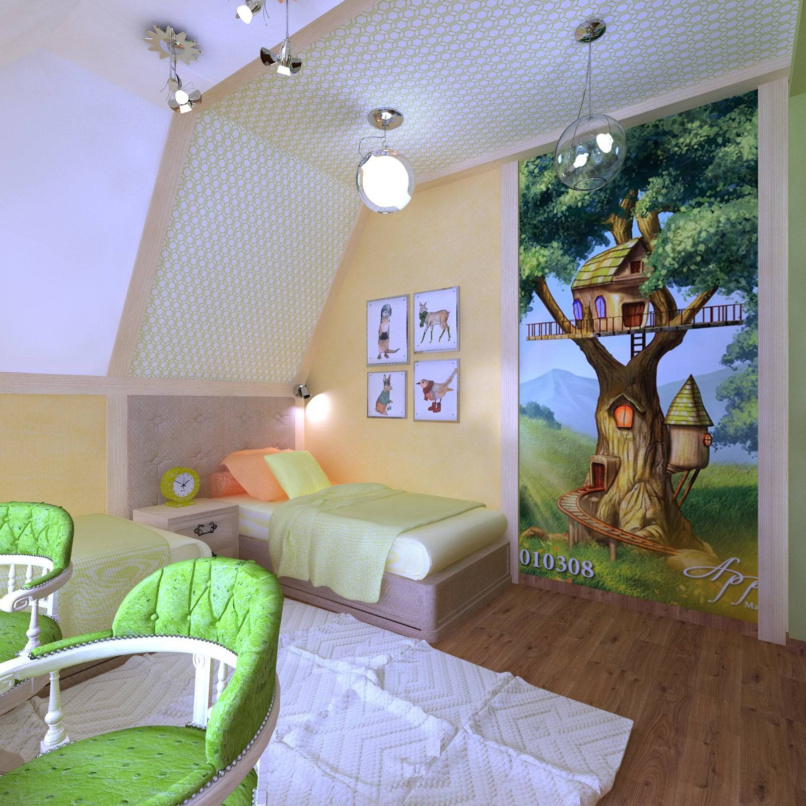 Интерьер мансарды с двускатной и ломаной крышей — дизайн вашей мечты!