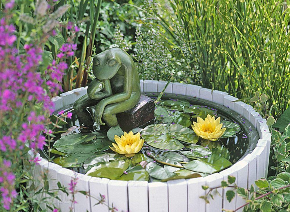 Как сделать пруд на даче, в саду, возле дома