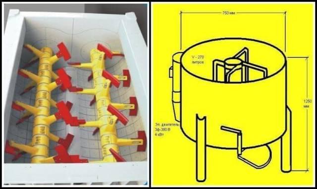 Бетоносмеситель своими руками: делаем принудительный бетоносмеситель, изучив чертежи