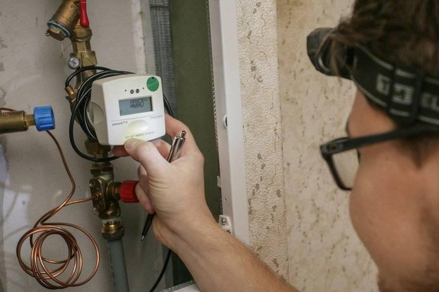 Как происходит установка счетчика отопления в квартире
