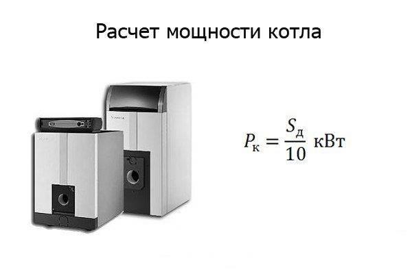 Как рассчитать мощность котла отопления