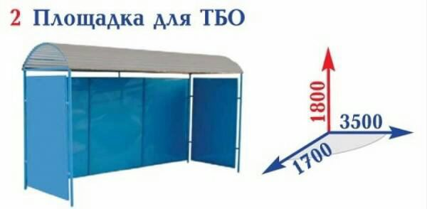 Контейнерная площадка для мусора: нормативы установки и обслуживания