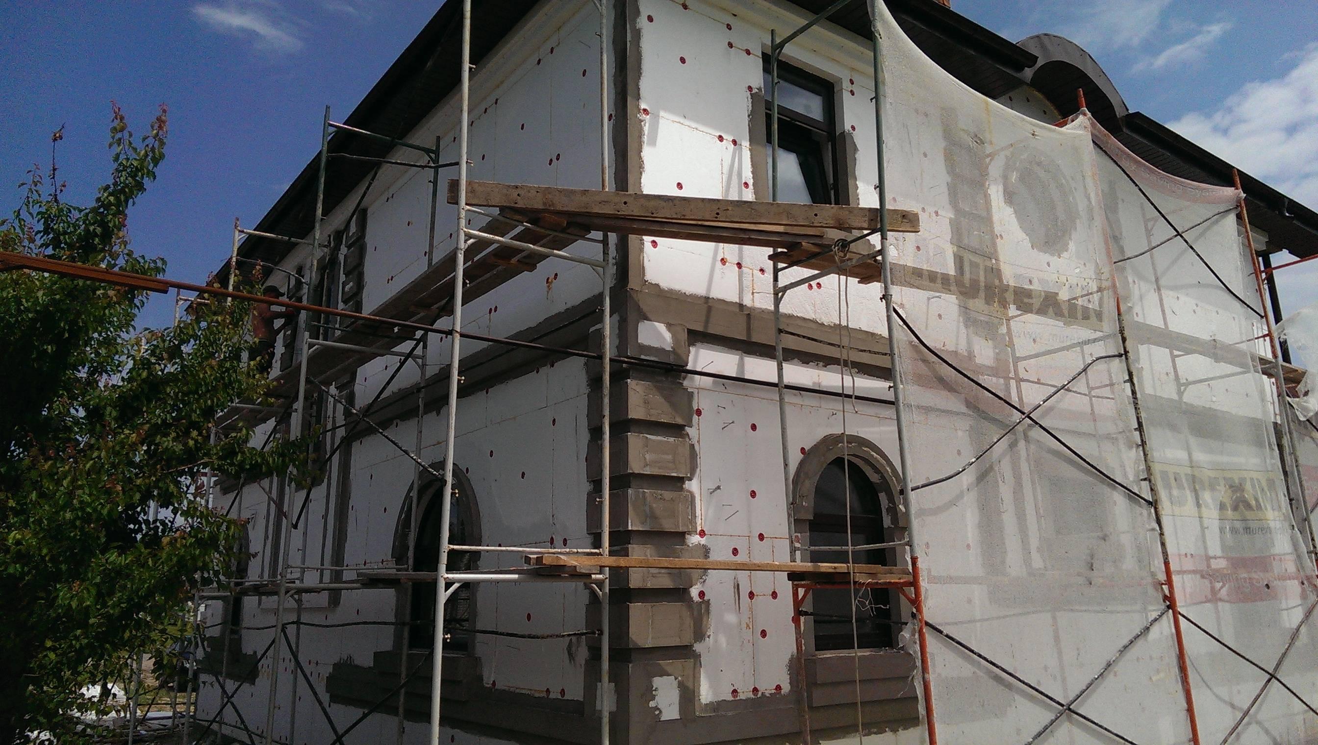 Как утеплить фасад пенопластом