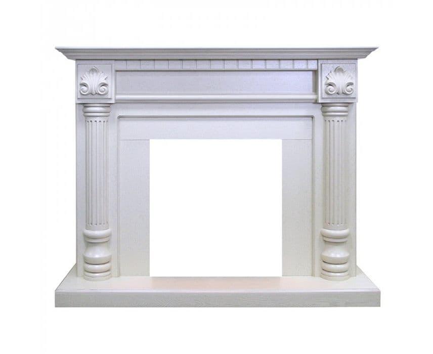 Разновидности порталов для каминов и материалы для изготовления