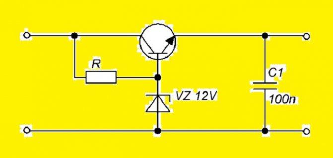 Как сделать стабилизатор напряжения на 12 вольт своими руками
