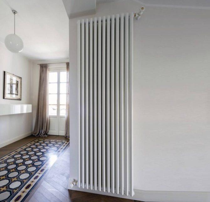 Использование дизайнерских радиаторов отопления в интерьере дома