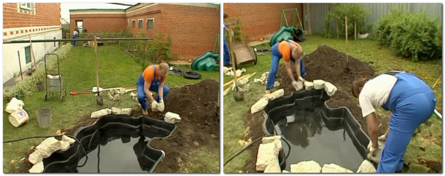 Как сделать пруд на даче: пошаговая инструкция, как на даче сделать пруд своими руками
