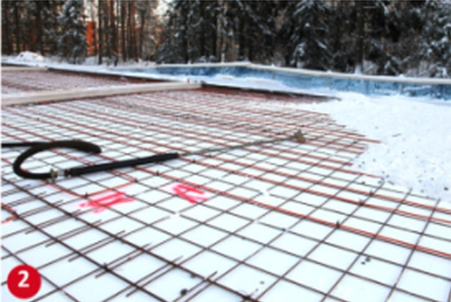 Электропрогрев бетона с помощью провода ПНСВ — расчет и схема подключения