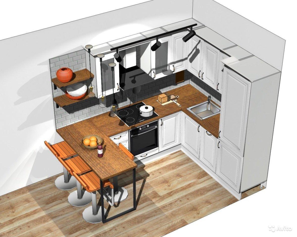 Планировка и дизайн кухни: разрабатываем самостоятельно