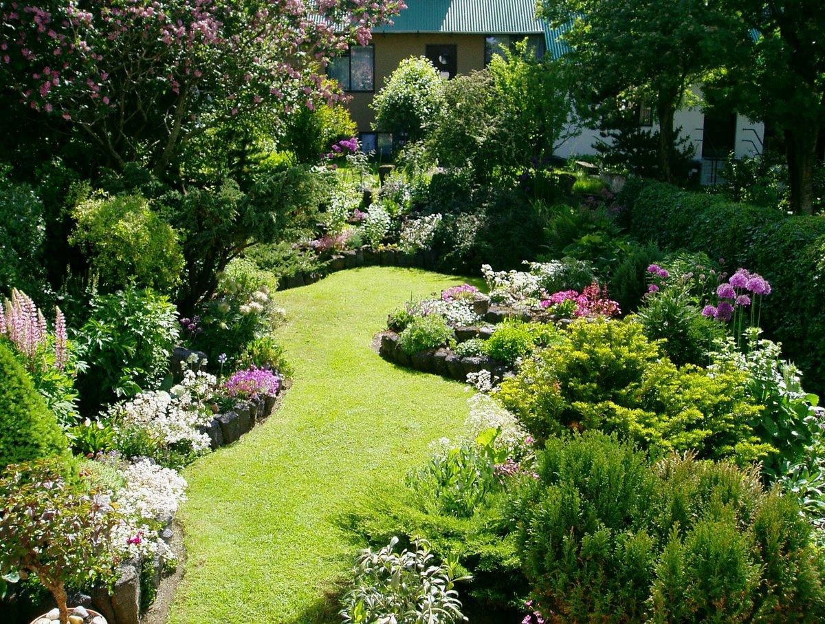 Обустройство сада: дизайн участка самостоятельно (60 фото)