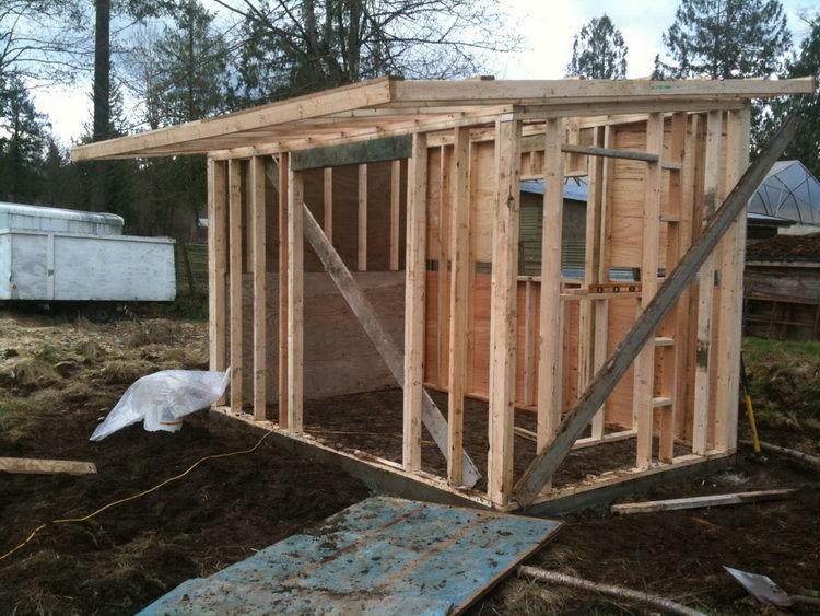 Как построить сарай своими руками: инструкция по обустройству каркасного сарая на даче