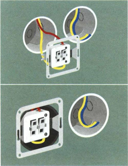 Как подключить выключатель с подсветкой: схема и устройство