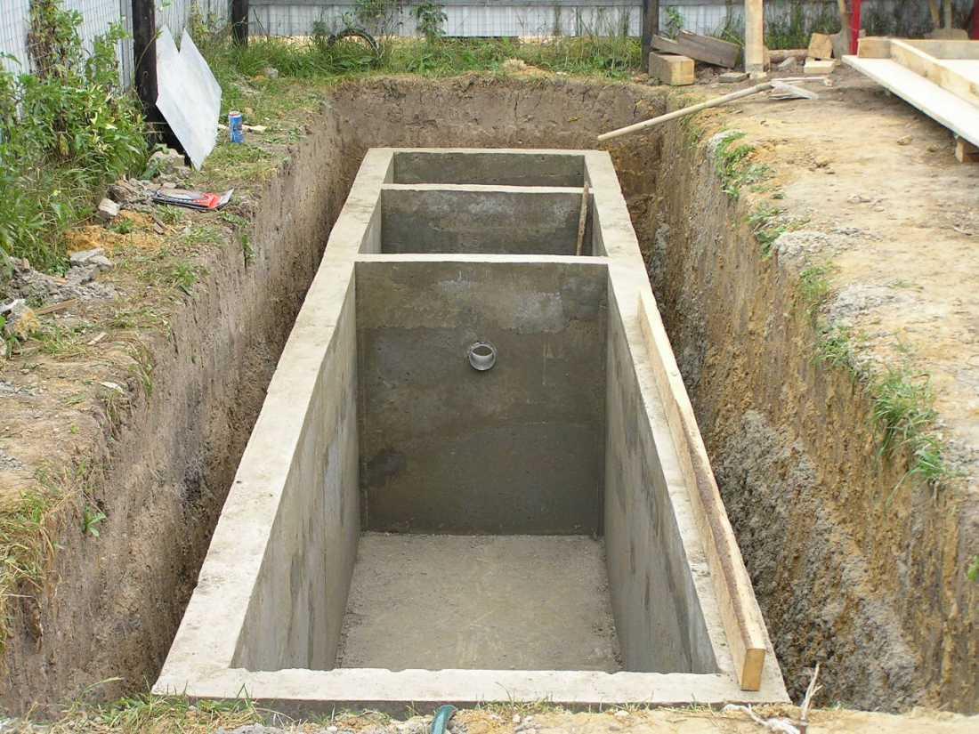 Сливная яма: возведение от простого к сложному