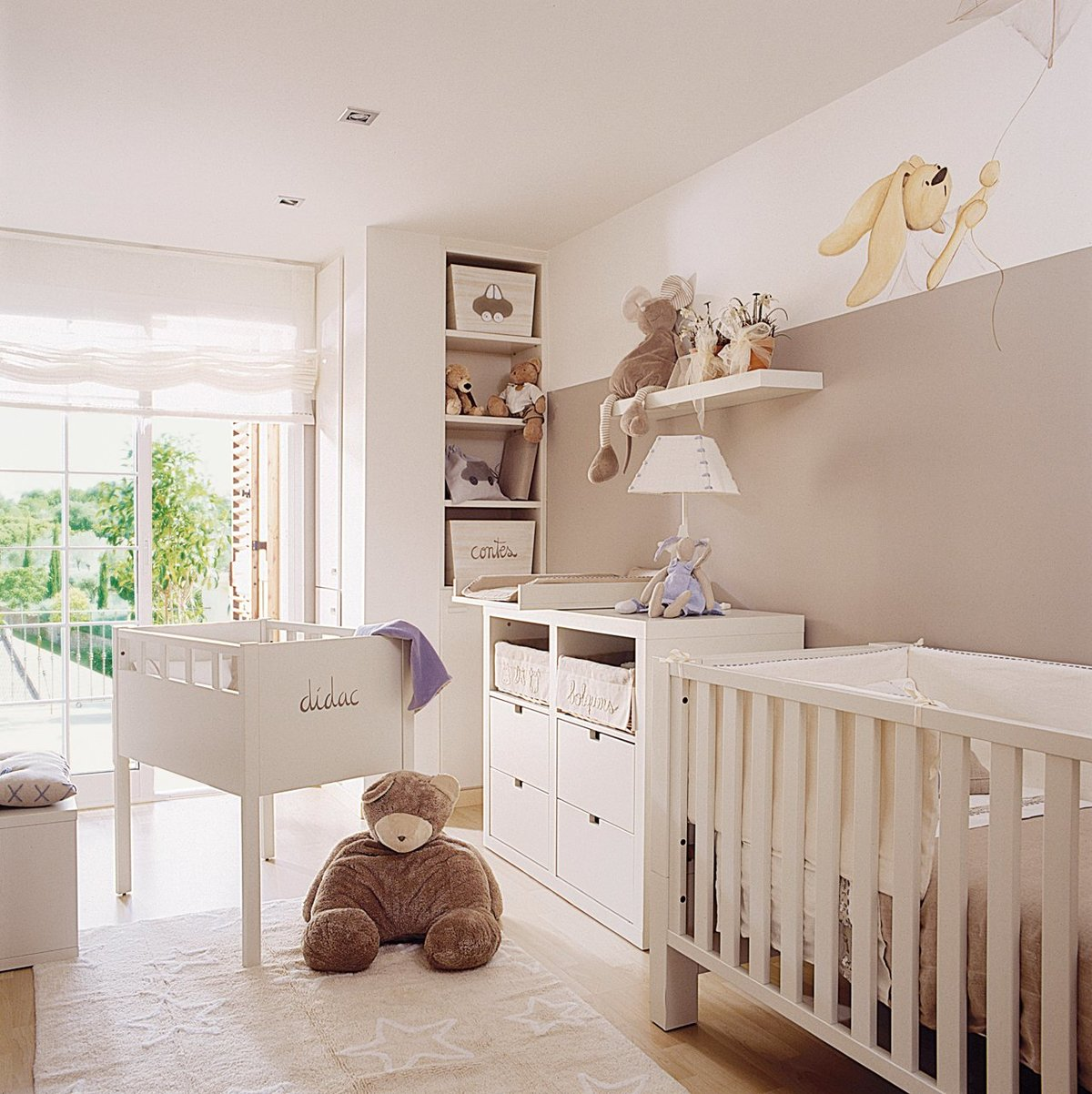 Как оформить комнату для новорожденного