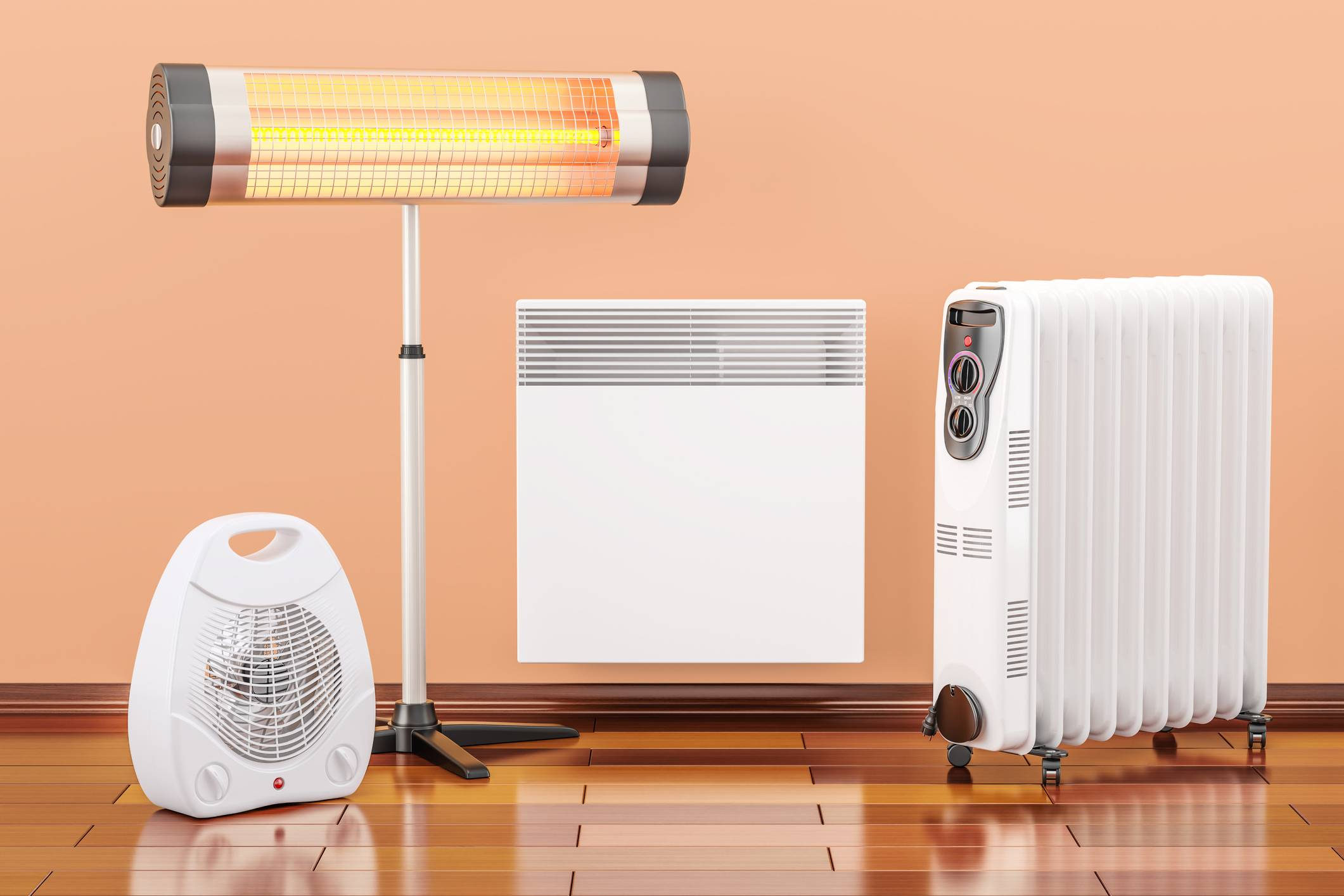 Использование электрических обогревателей для отопления дома