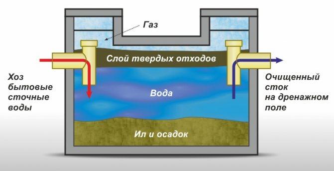 Что делать если не утекает вода из выгребной ямы