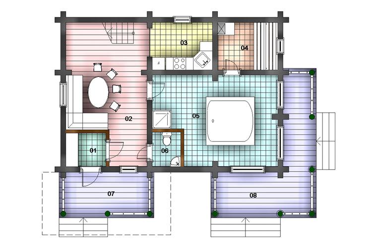 Как сделать сауну в частном доме своими руками: планировка, строительство