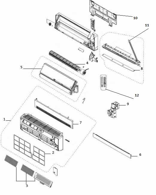 Как разобрать внутренний блок сплит-системы своими руками