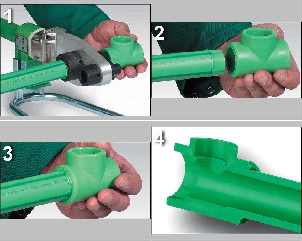 Как соеденить обрезки канализационных ПВХ труб без инструментов